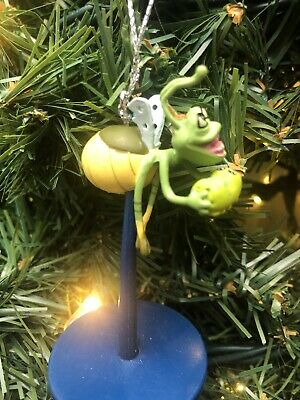 "New 2020 Disney Ray Christmas Tree Ornament 3"" Princess and the Frog Disneyland"