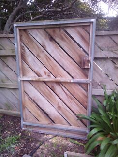 Galvanized frame gates Epping Whittlesea Area Preview