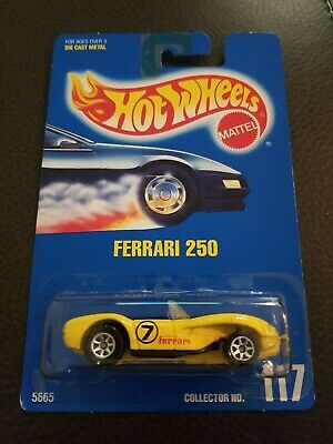 1991 Hot Wheels Ferrari 250 yellow - 117 5665