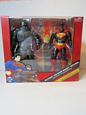 DC Comics Multiverse BATMAN SUPERMAN Dark Knight Returns 2-pack Exclusive SDCC