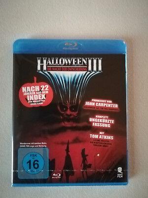 oween 3, Blu-ray, Neu und Original verpackt!! Uncut !!  (Halloween 3 Blu-ray Deutsch)