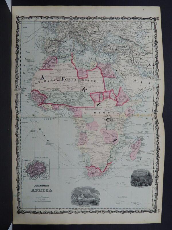 Antique Map, Johnson