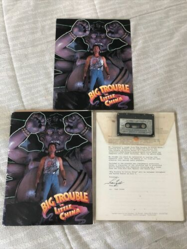 BIG TROUBLE IN LITTLE CHINA - MOVIE PRESS KIT