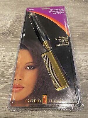 Gold N Hot Professional Pressing Comb Stove Iron Heat resistant handle (NEW) Gold N Hot Comb