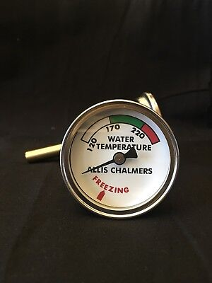 For Allis Chalmers Water Temp Gauge B C Ca Wc Wd Wd45 Allis-chalmers