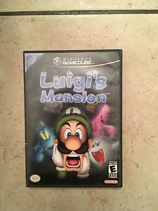 Game cube Luigi's mansion