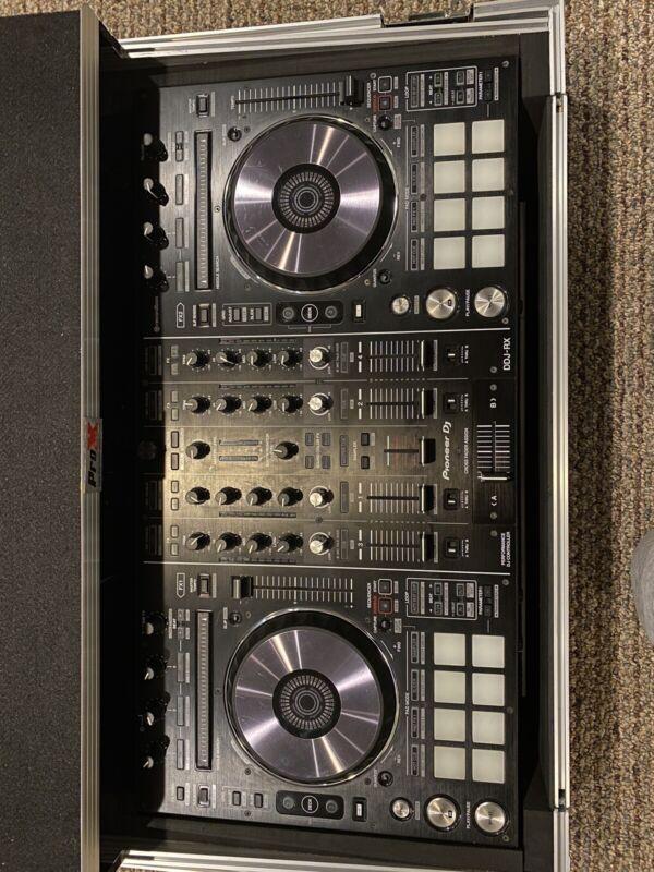 Pioneer DDJ-RX 4 Channel DJ Controller With Rekordbox Software.