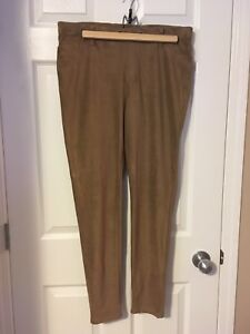 George Jeggings, suede look, size XL