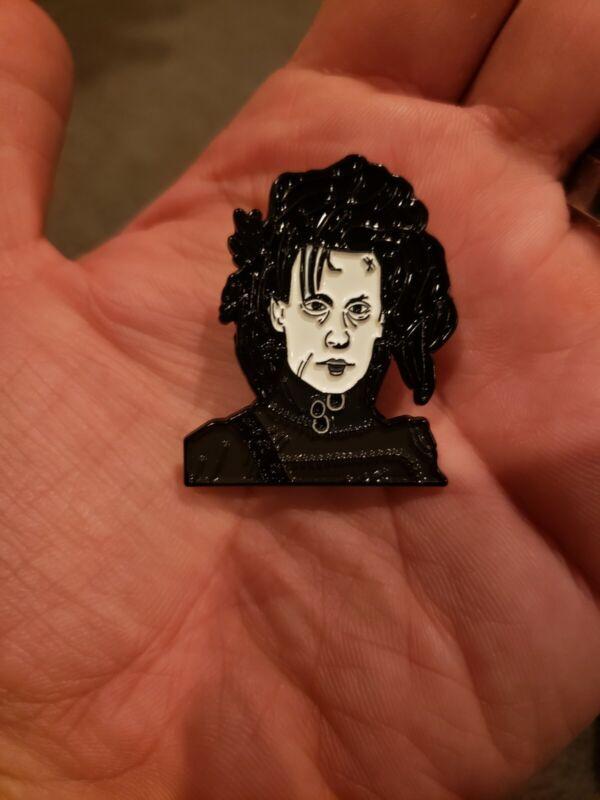 Edward Scissorhands Drama Comedy Enamel Pin Johnny Depp Tim Burton SOLD OUT