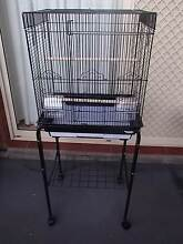 Black Bird Cage (Medium) With Stand Hillbank Playford Area Preview
