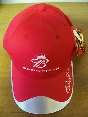 NEW DALE EARNHARDT JR WINNERS CIRCLE BUDWEISER #8 BALL CAP HAT FREE 1ST CLS S&H