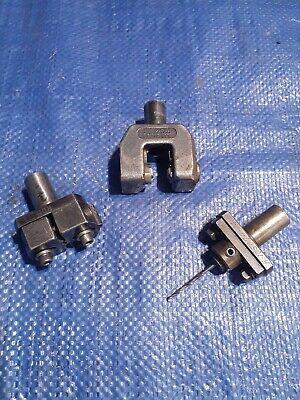 Brown Sharpe Knurling Tool 58 Shank 2 Drill Holders Omni-turn Cnc Hardinge
