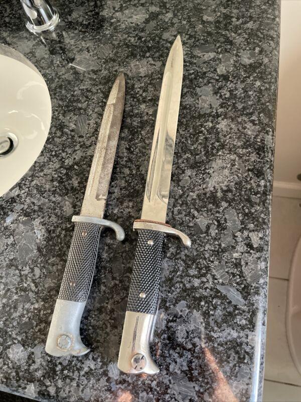 Original ww2 german dress bayonets. Sold Together