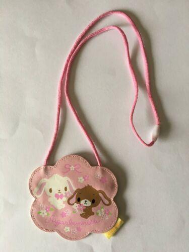Sanrio Sugar bunnies Shoulder Small bag Pink Sugarbunnies Zipper Pouch Travel