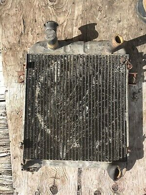 Jaguar Mark 2, MKII  Original Factory Radiator  has Original Core