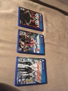 Ps4 games - Mint condition-