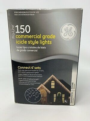 GE Pro-Line Commercial Grade Icicle Style Lights Indoor / Outdoor