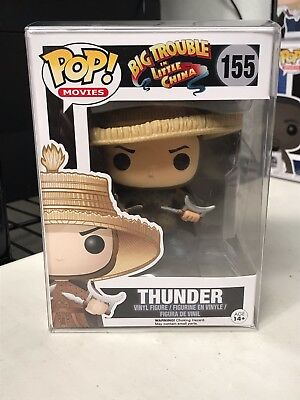 FUNKO POP THUNDER BIG TROUBLE IN LITTLE CHINA #155 RETIRED VAULTED w/ PROTECTOR