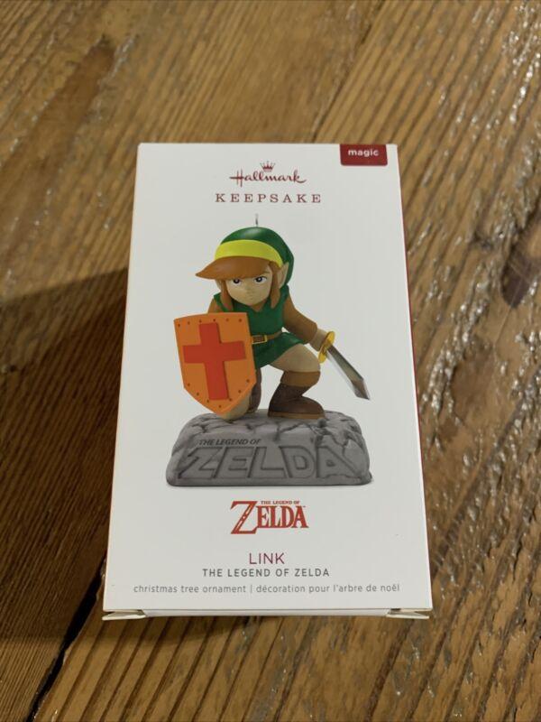 Hallmark 2018 Link The Legend of Zelda MAGIC Ornament With Sound New in Box!