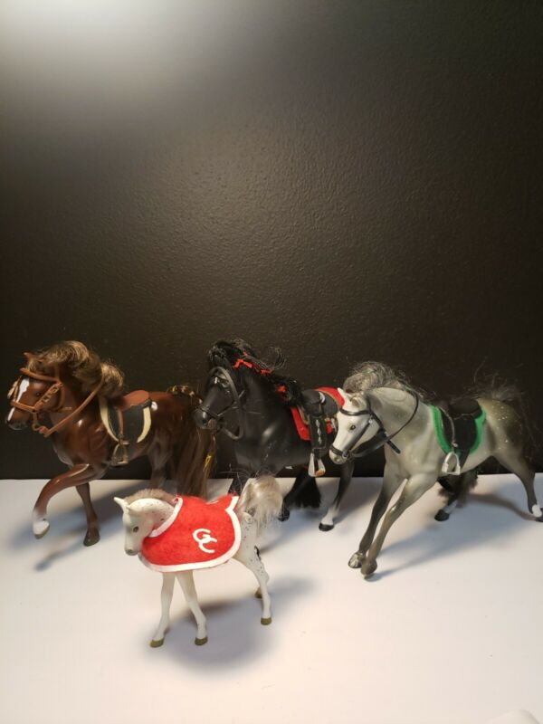 Lot Of 4 Grand Champions Toy Horses Empire Industry