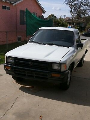 1993 Toyota Tacoma basic cars & trucks toyota