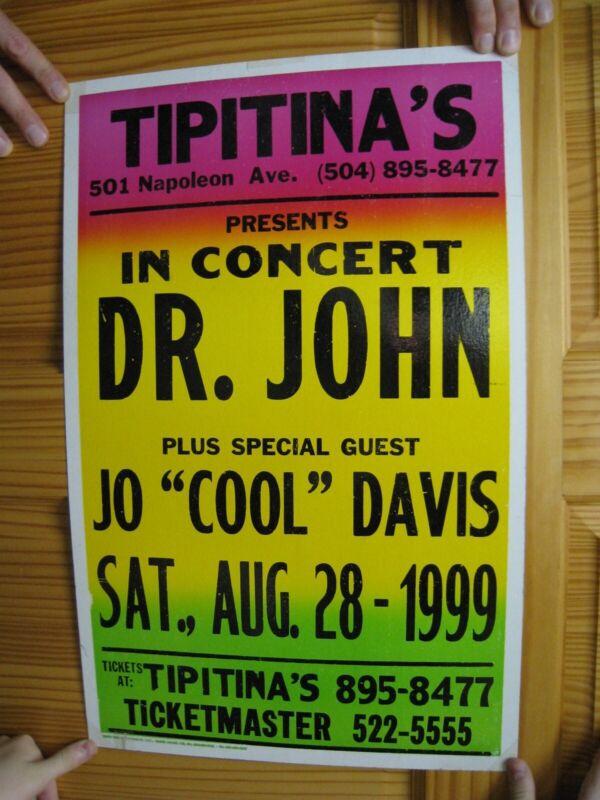 Dr. John Poster 1999 Tipitina