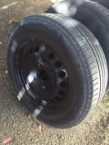 Cheap tyres and rims  195/55R15 all in good condition off Astra Mudgeeraba Gold Coast South Preview