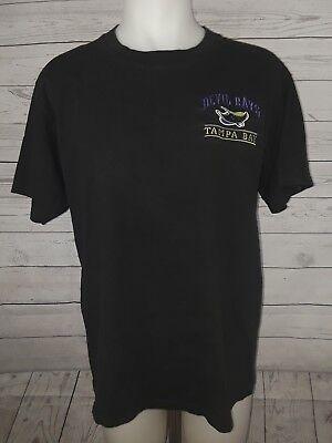 Tampa Bay Devil Rays Original Mens Large T Shirt Vintage Lee Sport Baseball MLB