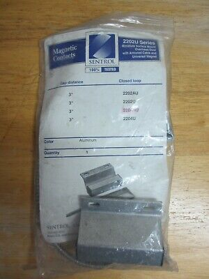 Ge Sentrol 2204au-l Floor-mount Magnetic Contact For Overhead Doors Armored New