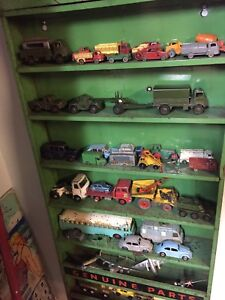 Vintage dinky and lesney cars