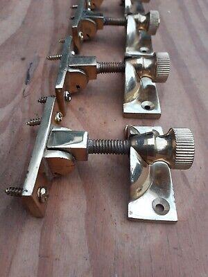 Vintage Sash Window Lock Latch Catch Brass Sold Singular (1) security