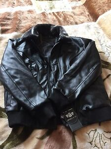 New real leather jacket