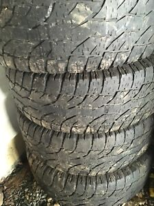 4 all season LT275/65R18