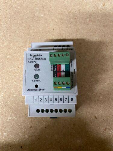 SCHNEIDER ELECTRIC S48377 48845 CCM Modbus Communication Module