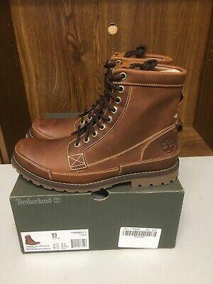"Timberland Men's - J CREW EARTHKEEPER 6"" BOOTS - Nubuck Medium Brown Size 9.5"