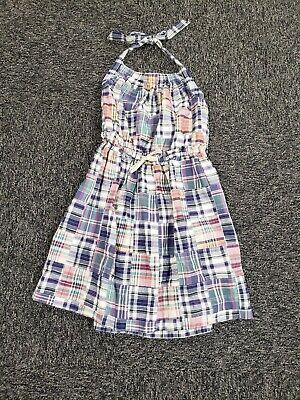 Girls Summer Dresses Size 10 (Crewcuts ~ Girls Madras Summer Dress ~ Size)
