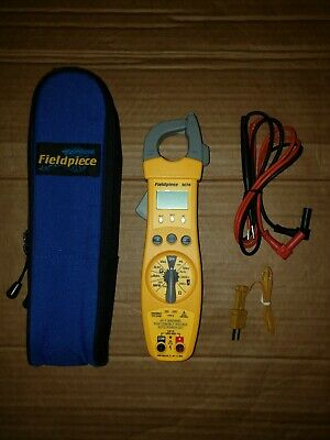 Fieldpiece Sc76 Temperature And Capacitance Clamp Meter