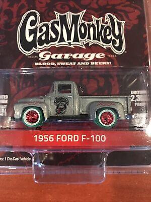 Greenlight Gas Monkey Garage 1956 Ford F100 CHASE Car GREEN MACHINE
