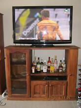 Solid pine TV Unit Holsworthy Campbelltown Area Preview