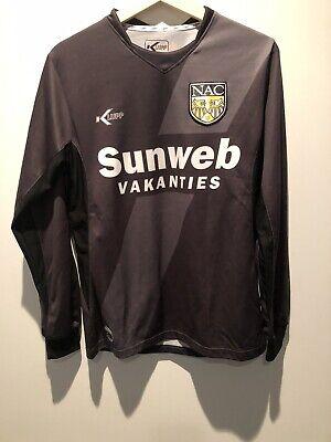 2010/11 NAC Breda Away Long Sleeve Football Soccer Shirt - Small - Erevidesie image
