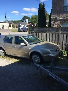 2004 Volkswagen Diesel Golf TDI - Manual
