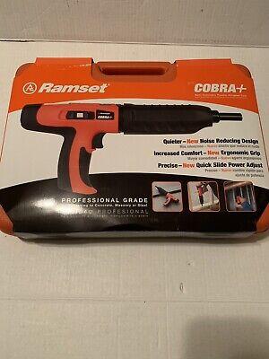 Ramset Cobra Plus .27 Caliber Semi Auto Powder Actuated Tool 16942 New