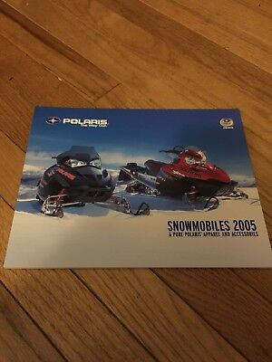 2005 POLARIS SNOWMOBILE SALES BROCHURE FULL LINE 80 PAGES NICE    (440)