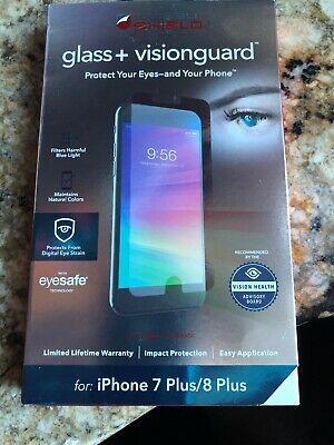ZAGG InvisibleShield Glass+ VISION GUARD Screen Protector iPhone 7 Plus/8 Plus