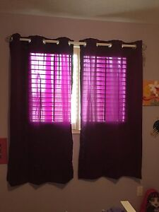 Like new 3/4 length darkening curtains