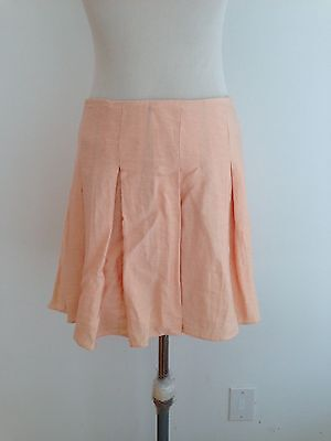 BCBGeneration Pleated Skirt Pale Coral Size 2 NWT