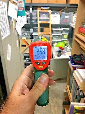 Ir Laser Thermometer Extech 42510a