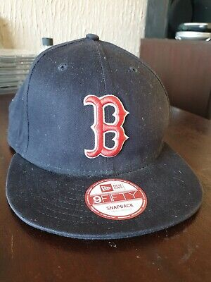 New Era Boston Red Sox 9FIFFTY Snapback Baseball Cap - Small/Medium-  Used MLB