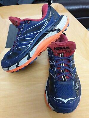 HOKA ONE ONE (MAFATE SPEED 2) MENS LIGHTWEIGHT RUNNING TRAINERS- UK SIZE 7.5