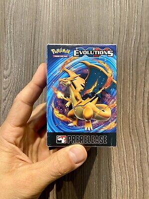 2016 Pokemon XY Evolutions Pre-Release Box, 23ct Cards, Charizard Holo?